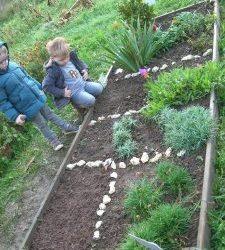 Jardinage d'automne en PS